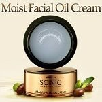 Moist facial oil cream