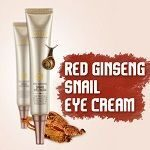 Red ginseng snail eye cream