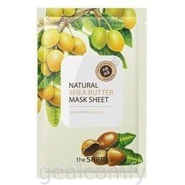The SAEM Natural Shea Butter Mask Sheet тканевая маска для лица с маслом ши