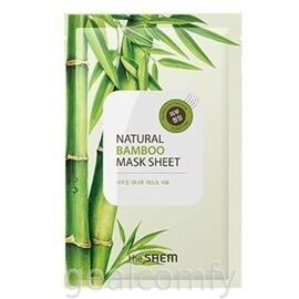 The SAEM Natural Bamboo Mask Sheet тканевая маска для лица с экстрактом бамбука