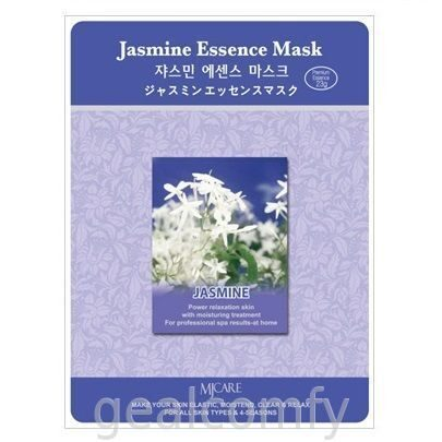 Маска для лица с экстрактом жасмина MJ Care Jasmine Essence Mask, 1 шт