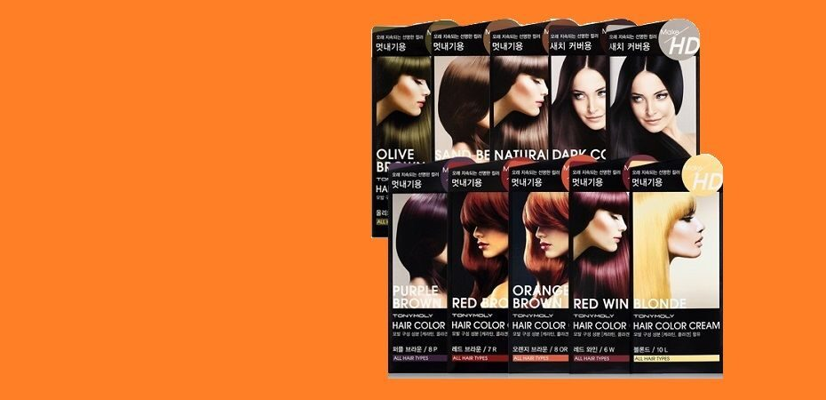 Tony Moly Make HD Hair Color Cream - краска для волос