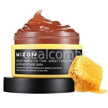 Mizon Enjoy Fresh-On Time Sweet Honey Mask маска для лица с экстрактом меда, 100 мл