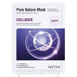 Secriss Pure Nature Mask Collagen тканевая маска для лица с коллагеном
