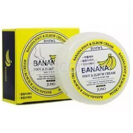 Juno Zuowl Foot & Elbow Cream Banana крем для ног и локтей с экстрактом банана, 100 мл
