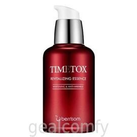 Berrisom Timetox Revitalizing Essence восстанавливающая антивозрастная эссенция для лица 50ml