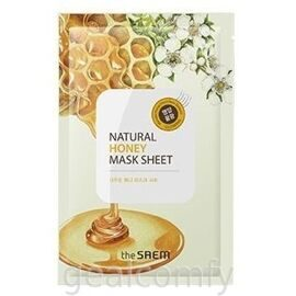 The SAEM Natural Honey Mask Sheet тканевая маска для лица с экстрактом меда