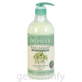 Deoproce Well-Being Aroma Body Cleanser Acacia гель для душа с экстрактом акации 1000 мл