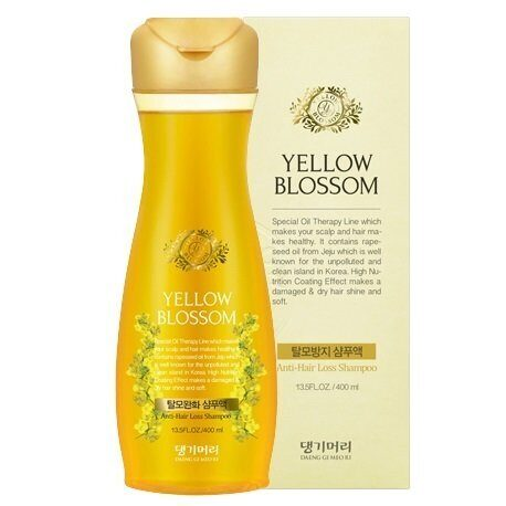 Шампунь от выпадения волос Daeng Gi Meo Ri Yellow Blossom Anti-Hair Loss Shampoo 400ml