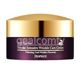 Deoproce Syn-ake Intensive Wrinkle Care Cream крем для лица со змеиным ядом против морщин, 100 г