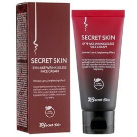 Secret Skin Syn-Ake Wrinkleless Face Cream крем для лица со змеиным ядом, 50 г