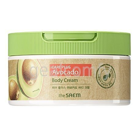 The SAEM Care Plus Avocado Body Cream крем для тела с экстрактом авокадо, 300 мл