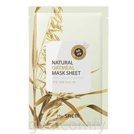 The SAEM Natural Oatmeal Mask Sheet тканевая маска для лица с экстрактом овса