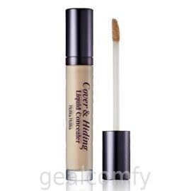 Holika Holika Cover & Hiding Liquid Concealer 02 Natural Beige жидкий консилер для лица, 4 мл