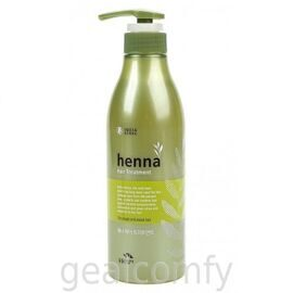 Somang Flor de Man Henna Hair Treatment восстанавливающая маска для волос, 500 мл