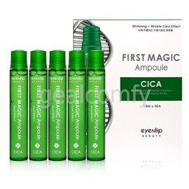 Eyenlip First Magic Ampoule Cica ампулы для лица с экстрактом центеллы, 13 мл х 5 шт