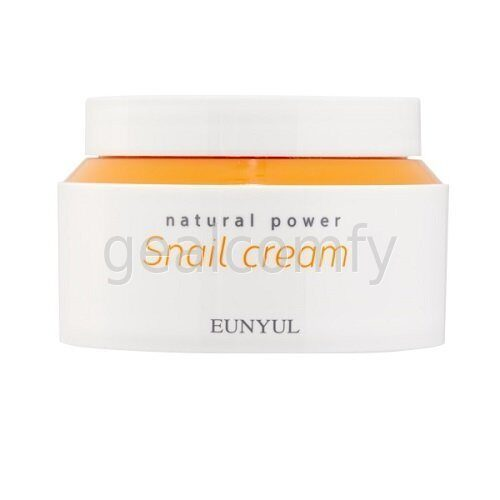 Eunyul Natural Power Snail Cream крем для лица с муцином улитки, 100 мл