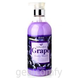 Lunaris Grape Body Wash гель для душа с экстрактом винограда, 750 мл